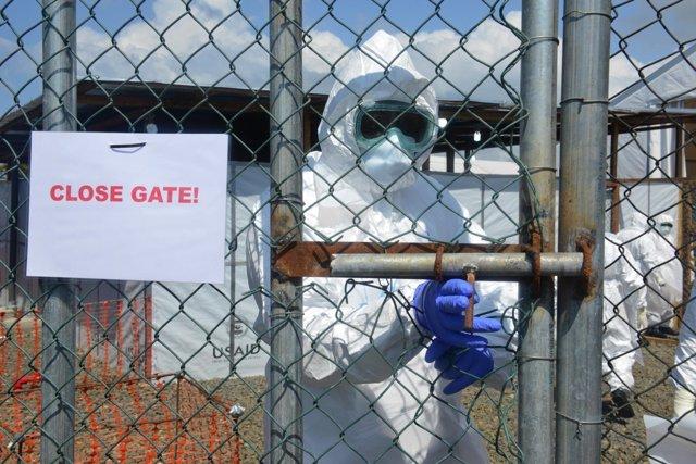 Centro de tratamiento contra el ébola en Monrovia