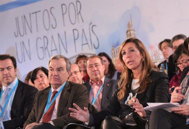 Alícia Sánchez-Camacho, en la Convención Nacional del PP
