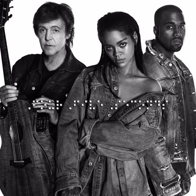 Paul McCartney, Rihanna y Kanye West