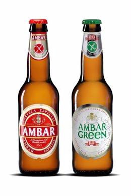 Cervezas para celíacos de Ambar
