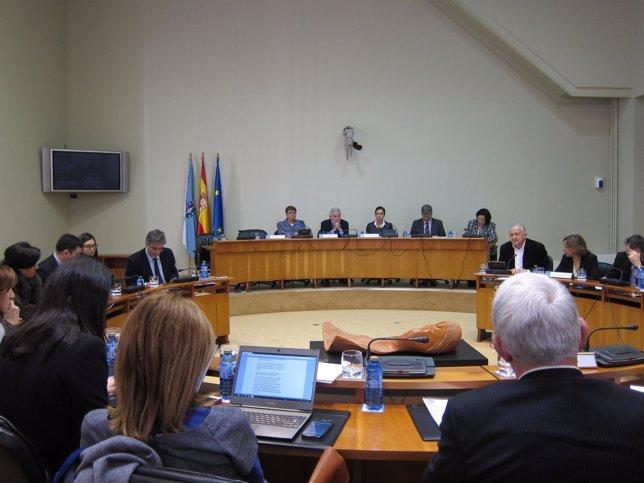 Diputación Permanente en el Parlamento de Galicia.