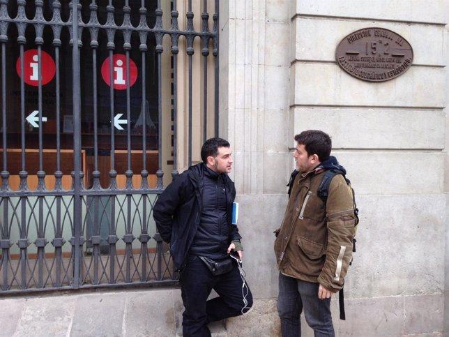 Xapo Ortega y Xavier Artigas, codirectores del documental 'Ciutat morta'