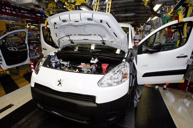 Fabricación del Peugeot Partner en Vigo