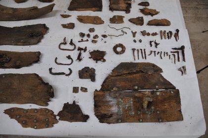 Hallan restos que podrían ser de Miguel de Cervantes en un nicho con la inscripción M.C.