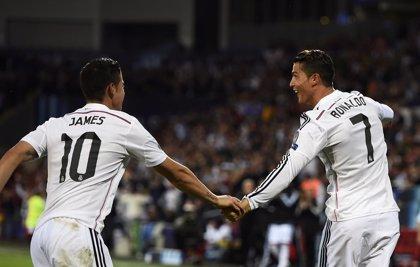 """James Rodríguez: """"Cristiano es excelente, tanto dentro como fuera de la cancha"""""""