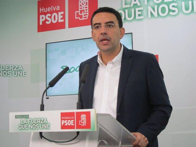 Mario Jiménez, portavoz del Grupo Parlamentario Socialista.