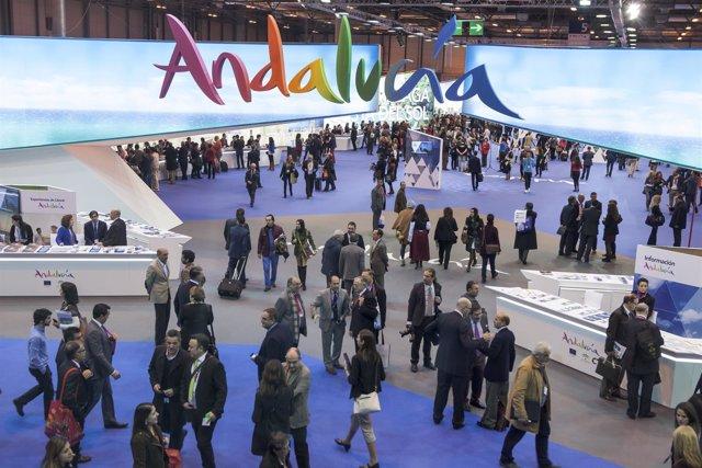 Imagen del stand de Andalucía Fitur 2014