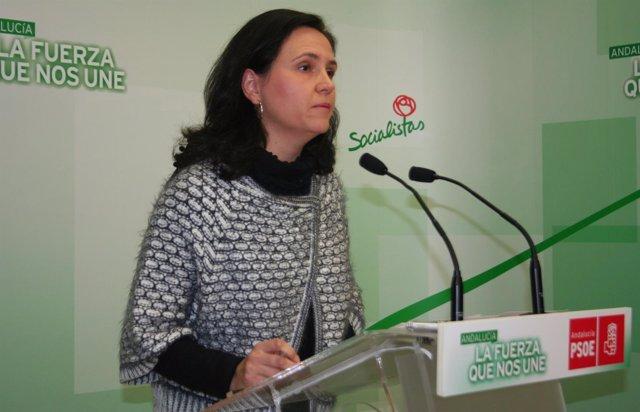 La delegada de Fomento, Vivienda, Turismo y Comercio de la Junta Josefina Vioque