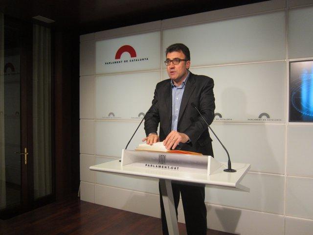 El secretario general adjunto de ERC, Lluís Salvado