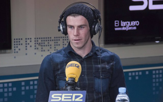 Garefh Bale, jugador del Real Madrid en la Cadena SER