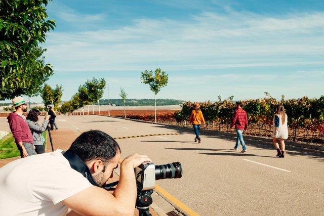 Promoción de la Ruta del Vino de Cigales.