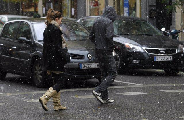 Nieve, mal tiempo, frío