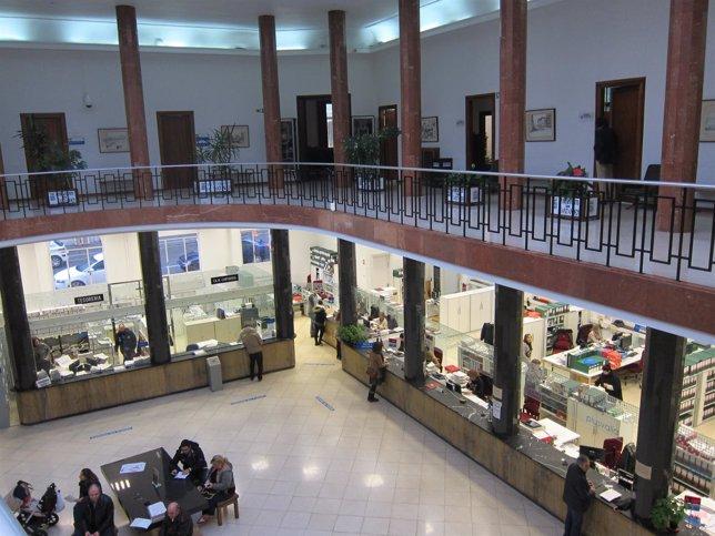 Interior del Ayuntamiento de Santander