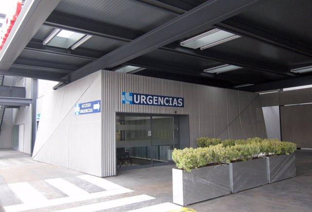 Acceso de Urgencias del Hospital Clínico Universitario de Valladolid