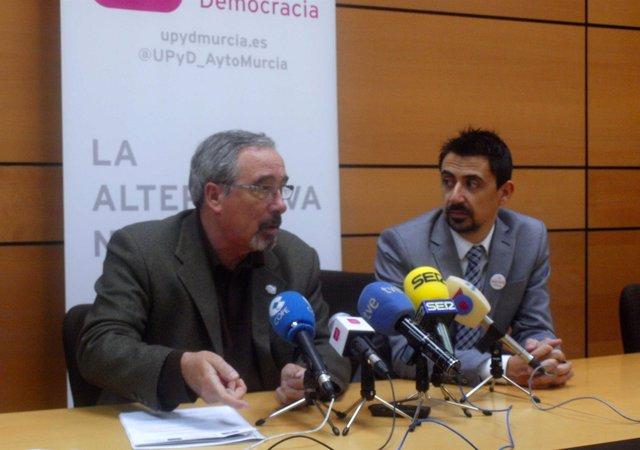 José Antonio Sotomayor y Rubén Serna.