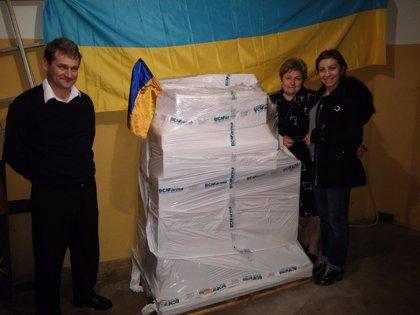 Farmacéuticos Sin Fronteras envía ayuda humanitaria a Ucrania en forma de medicamentos