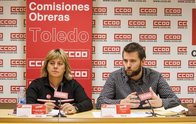 López y González en rueda de prensa