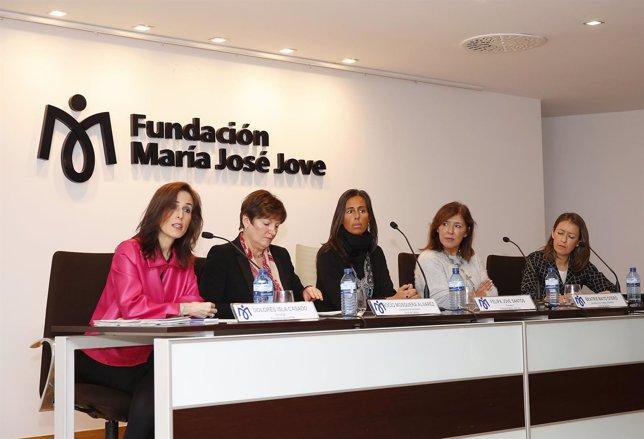 Presentación de estudio en la Fundación María José Jove.