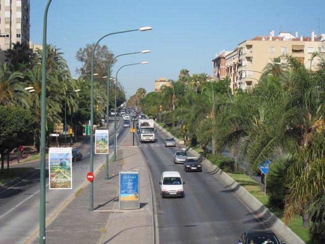 Avenida Andalucía, Centro, Coches, circulación, centro, carretera, calle, vía