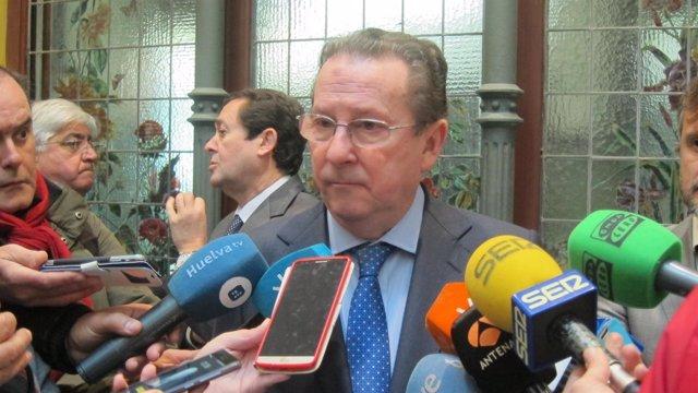 El consejero de Justicia, Emilio de Llera.