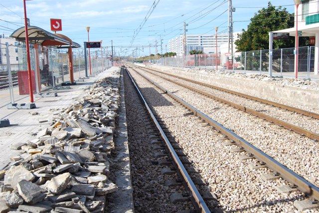 Adif inicia las obras de mejora de la Estación Fuente de San Luis