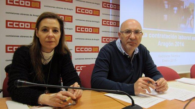 Presentación del informe sobre la contratación en Aragón en 2014