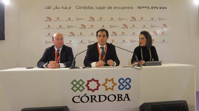 El alcalde de Córdoba, José Antonio Nieto, en un acto en Fitur