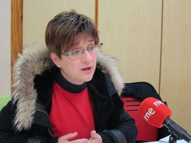 La concejala de IU-Verdes en el Ayuntamiento de Murcia, Esther Herguedas
