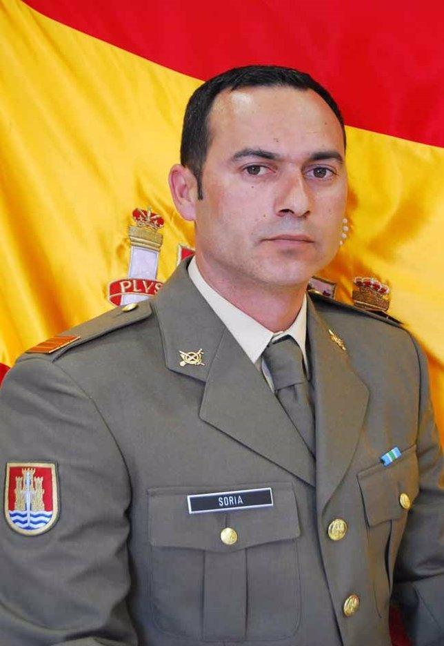 El cabo Francisco Javier Soria Toledo, fallecido en la frontera con Líbano