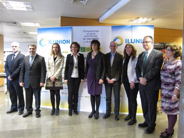 Acto de presentación de los nuevos responsables de la ONCE en Navarra.