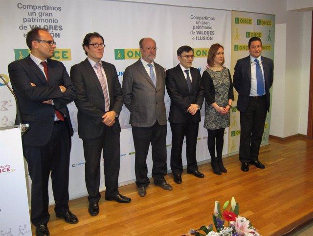 Toma de posesión de los responsables de la ONCE en Castilla y León