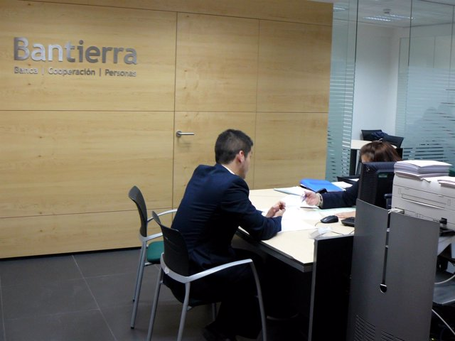 Una de las oficinas especializadas