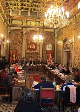 Pleno En La Diputación De Salamanca