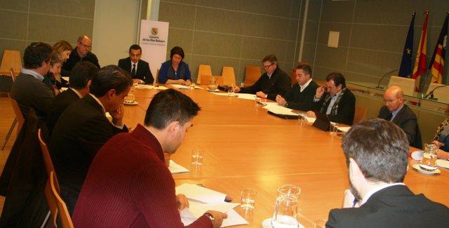 Reunión Comisión de Juego