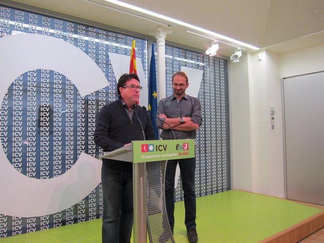 Joan Josep Nuet (EUiA) Joan Herrera (ICV)