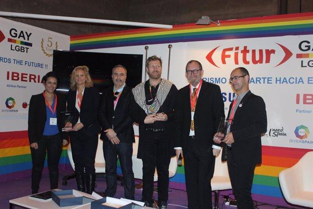Premio a Los Palomos en Fitur