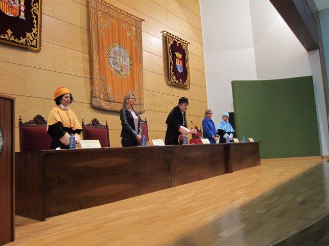 Festividad de Santo Tomás de Aquino enla UEx en Cáceres