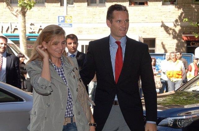 La infanta Cristina y Urdangarín, reunión en Barcelona para preparar su defensa