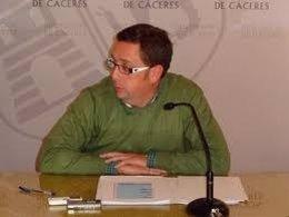Emilio Borrega, diputado del Sepei de la Diputación de Cáceres