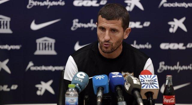 Javi Gracia, entrenador del Málaga