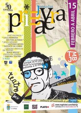 Cartel de la nueva temporada del teatro de Utrera