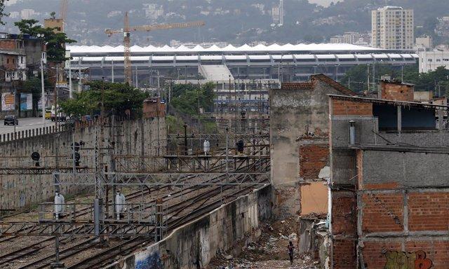 Metro Mangueira, en Río de Janeiro