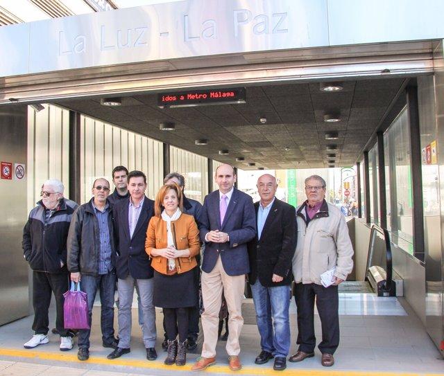 Conejo PSOE metro La Luz