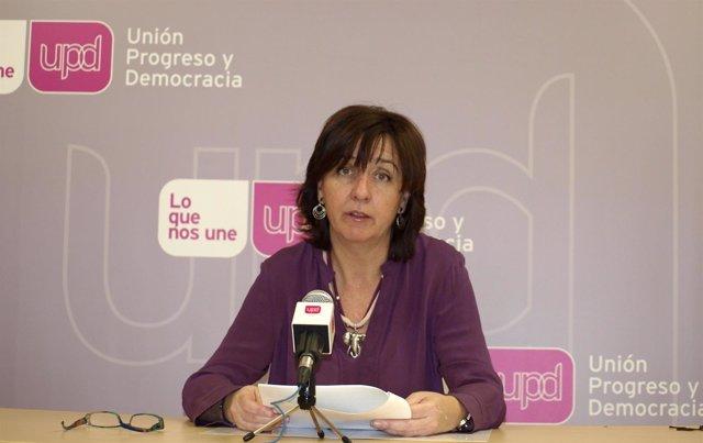 La responsable regional de Unión Progreso y Democracia, Fuensanta Máximo