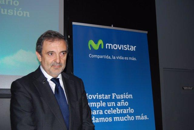 El presidente de Telefónica España, Luis Miguel Gilpérez
