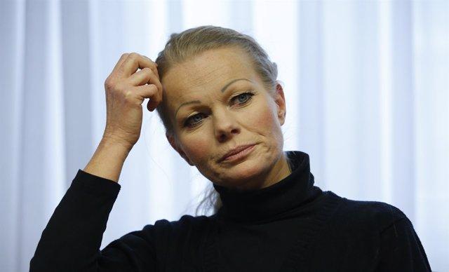 Kathrin Oertel. Líder del grupo antimusulmán PEGIDA