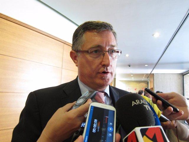 El alcalde de Terruel, Manuel Blasco