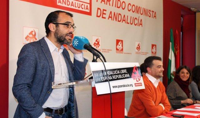 José Manuel Mariscal interviene en la reunión