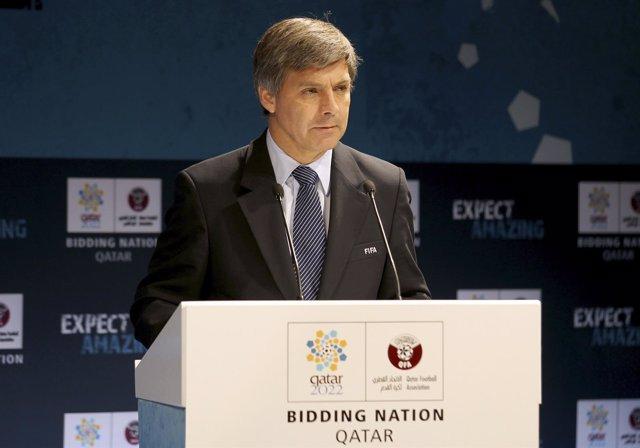 El chileno Harold Mayne-Nicholls, miembro de la FIFA