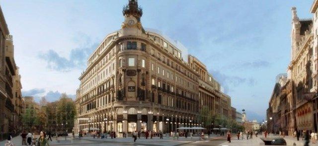 Proyecto Canalejas de OHL en Madrid